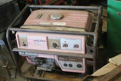 Honda Portable Gas Driven Generator Welder Ew171