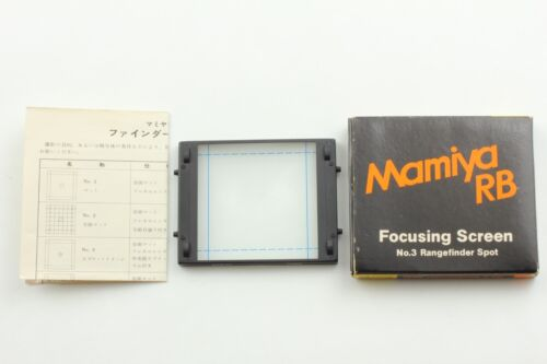 [Mint] Mamiya Focusing Screen No.3 Rangefinder Spot For RB67 Pro S from JAPAN