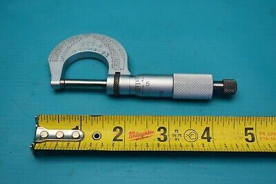 Used L.s. Starrett Model 230 Outside Micrometer .0001 0-1