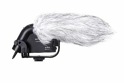 Movo VXR4000 HD Condenser Prosumer Video Microphone for DSLR Video Cameras