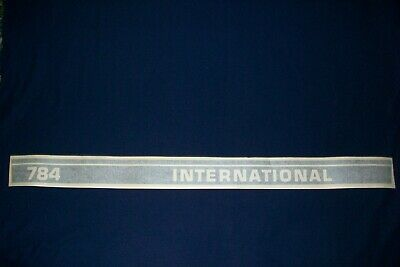 International 784 Utility
