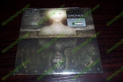 (Muse New Sealed 2-Track RSD CD Single (from Album Drones) Dead Inside & Psycho)