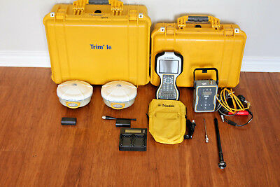Trimble Dual R8 Model 2 Gps Gnss Glonass Rtk Survey Receiver Setup Tsc3 Tdl-450h