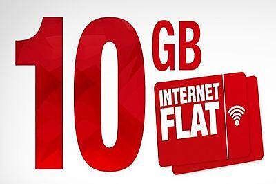 Ortel Mobile Prepaid SIM-Karte, inkl. 10 GB Internet Flat