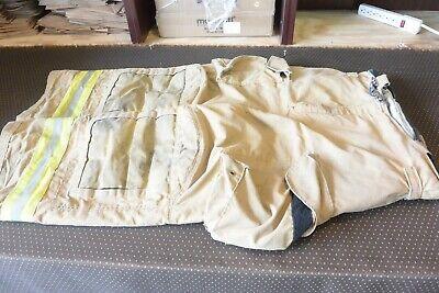 36r Pants Firefighter Turnout Bunker Fire Gear W Liner Janesville Lion