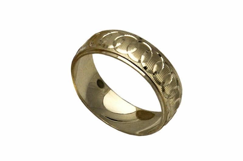 10K SOLID YELLOW GOLD MEN WOMEN WEDDING BAND RING SZ 5-13 FREE ENGRAVING