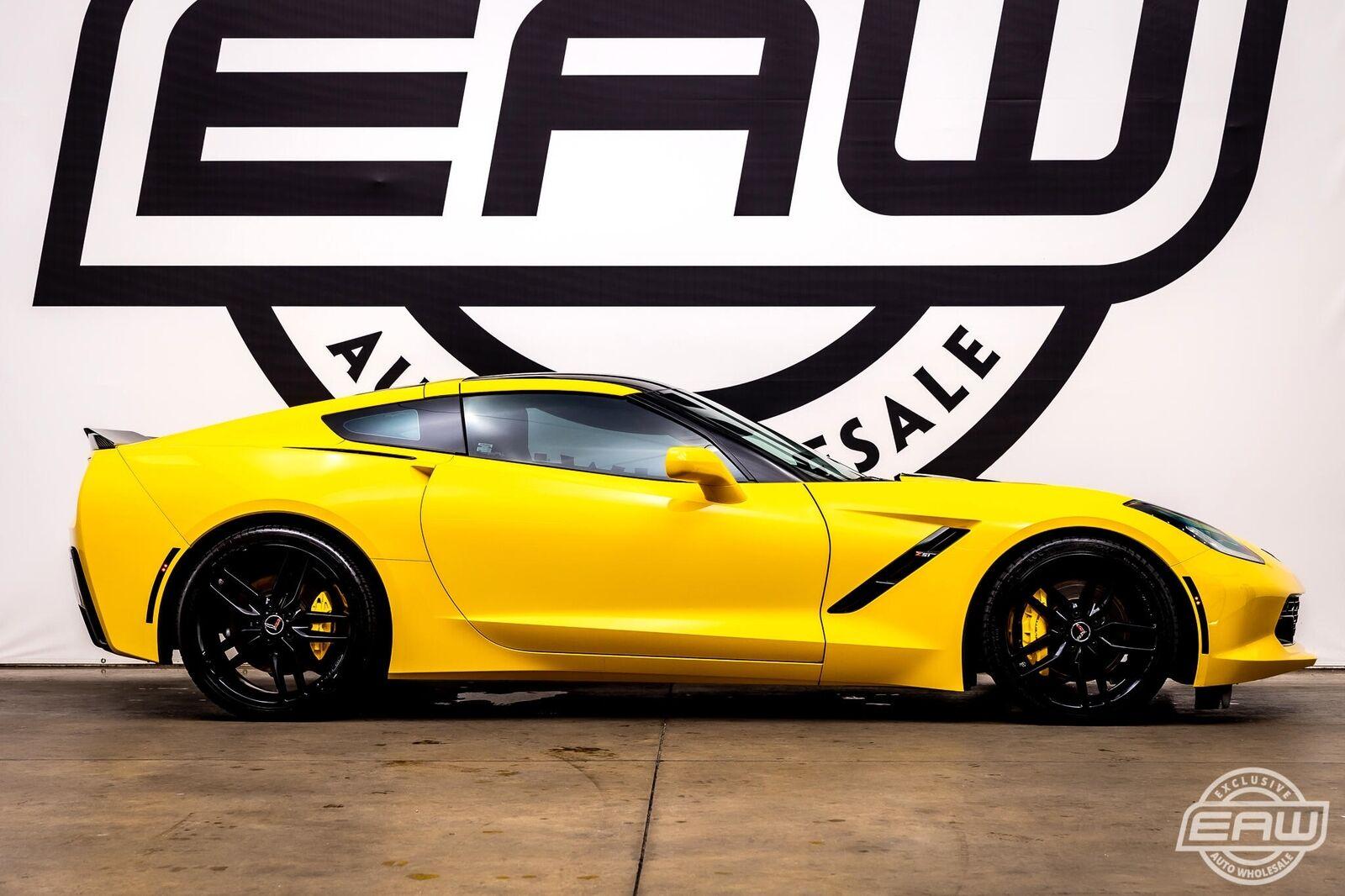 2014 Yellow Chevrolet Corvette Coupe 2LT   C7 Corvette Photo 9