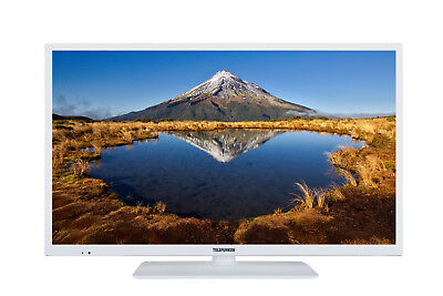 Telefunken XF32E411-W LED Fernseher 32 Zoll Full HD Triple-Tuner Smart TV WLAN