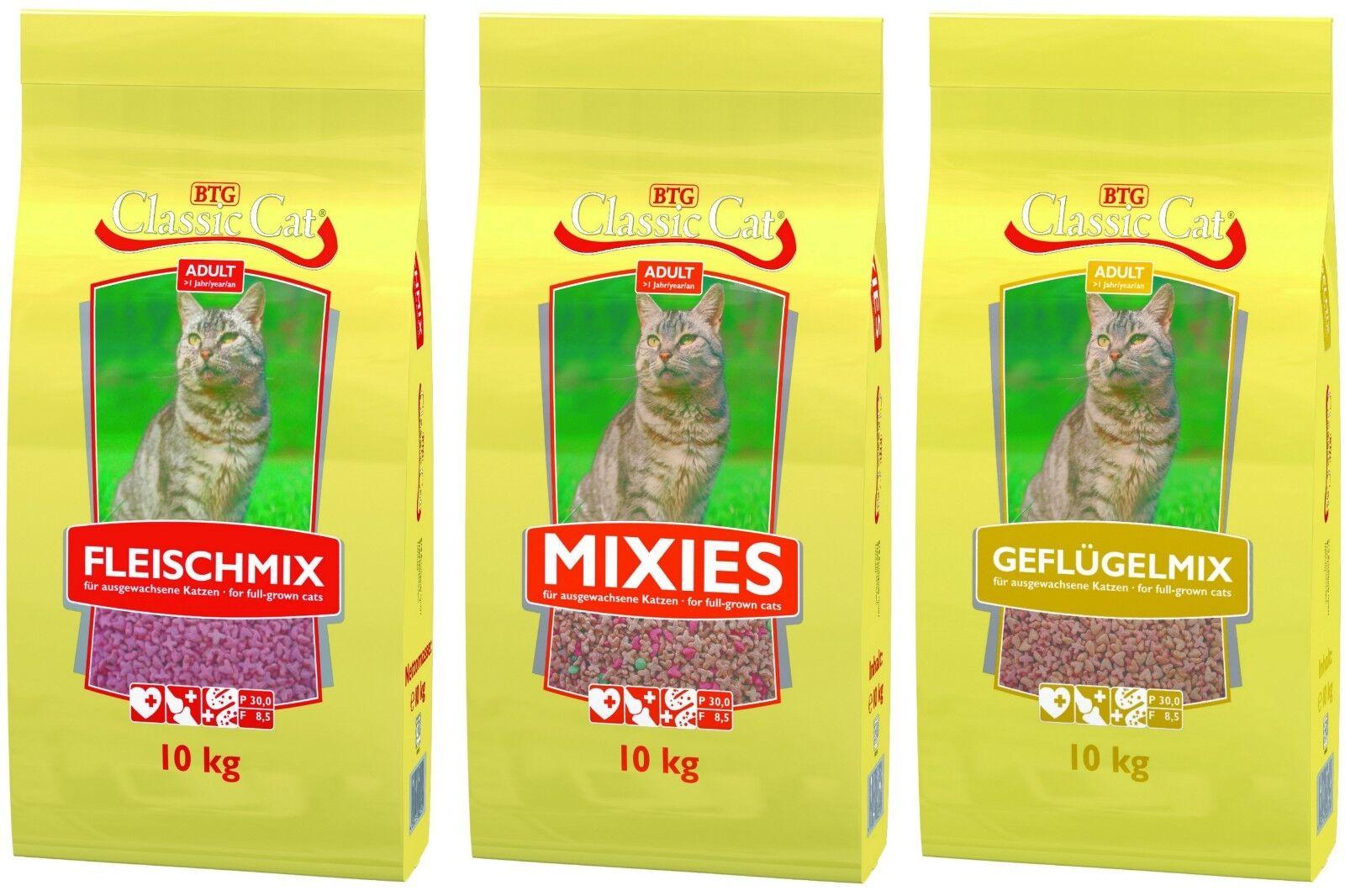 Classic Cat Trockenfutter 3 o. 10 Kg auch als Sparangebot (je2)
