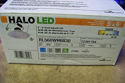new rl560wh6830 halo recessed downlight led baffled