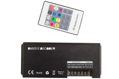 LEDupdates RGB DMX 512 Controller for Console to control LED Light Strip