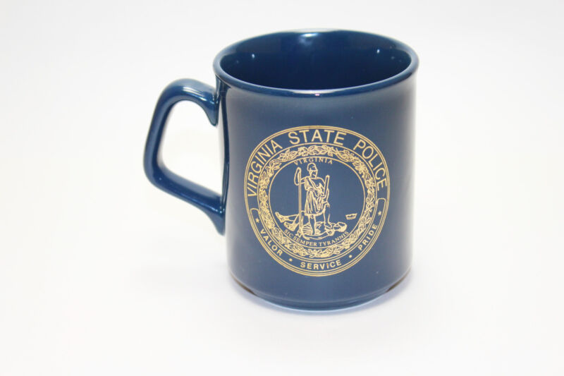 Virginia State Police coffee Mug