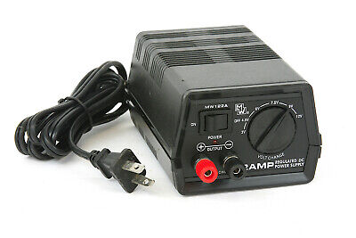 Mw122a - 2 Amp Regulated Dc Power Supply - 3v 4.5v 6v 7.5v 9v 12v