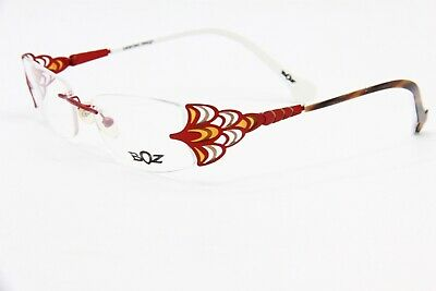 NEW BOZ PENSEE COL 3092 RED AUTHENTIC EYEGLASSES FRAME RX 51-17
