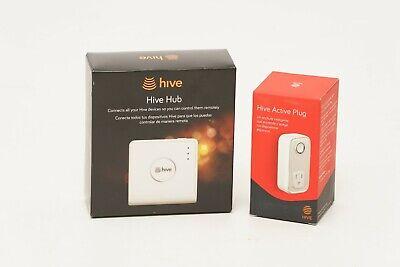 HIVE Smart Home Kit: Hive Hub, and Hive Active Plug Bundle