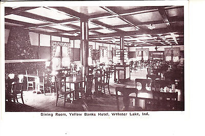 Webster Lake  In  Dining Room In Yellow Banks Hotel    1915