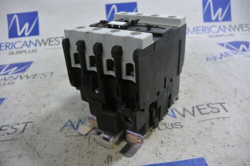 MCG MC1D40004 AC3: 40A Contactor with 120V 50/60Hz Coil
