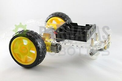 2wd Smart Dc Motor Robot Car Chassis Kit With Encoder For Arduino Ships From Usa