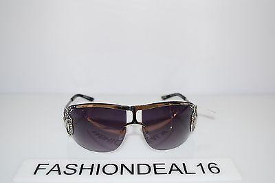 George Women/'s wide frame Fashion Sunglasses UV Protection Gray Black SR0508 New