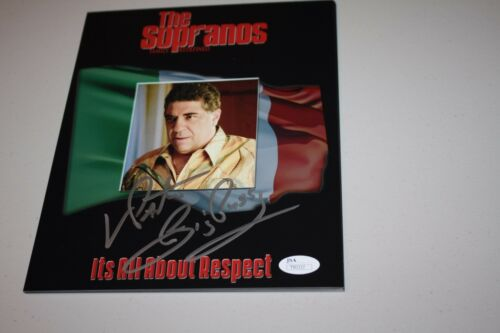 "VINCENT ""VINNY"" PASTORE  SIGNED 8X10 COLLAGE PHOTO ""BIG PUSSY"" SOPRANOS HBO JSA"