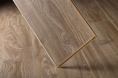 kokols Wood Acres Oak Atom Textured Laminate flooring 12mm