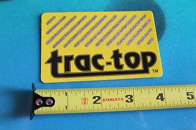 TRAC TOP 1980's Traction Pad for Surfboards SURF FUSION Vintage Surfing (Trac Traction Pads)