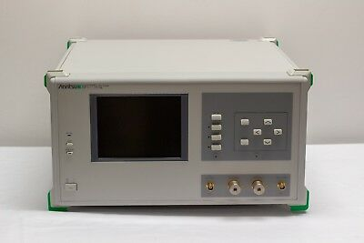 Anritsu Mp1777a 10 Ghz Jitter Performance Analyzer Spectrum Analyzer.