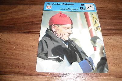 EERO MÄNTYRANTA / Nordischer Skisport -- Editions Rencontre S.A. Lausanne 1978