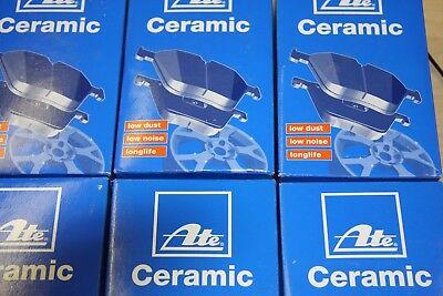 Ate Ceramic-Bremsbeläge mit Warnkontakt Mercedes S-Klasse W 221 Satz für hinten