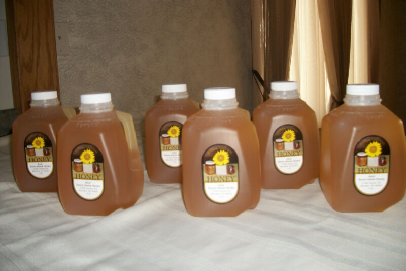 Raw Pure Natural Clover Honey (18 Lbs) Nutritional (Ships free)