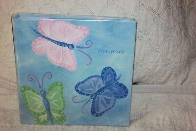 Blue Butterflies 200  4 x 6  Memories PhotoBook Album Cover 8 x 8 new