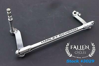 #3029 Harley CHROME Gear Shift Shifter Linkage Rod Arm FOR OEM 33759-99B