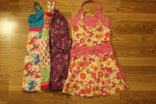 LOT of Girl's Summer Outfits Size 10/12 (The Children's Place, Justice, and more