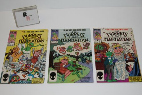 The Muppets Take Manhattan Comic Book Limited Series, 1-3 Rough Shape