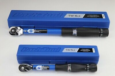 Park Tool TW-6.2 or TW-5.2 Click Type Ratcheting Torque Wrench 3/8-Inch Drive Park Tool Torque Wrench