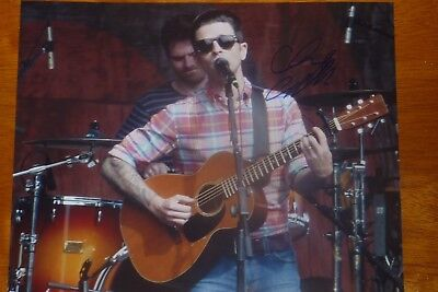 Chris Carrabba Signed Photo Dashboard Confessional Autographed Rock Emo