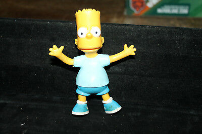 Bart Simpson Vintage 1990 Bendy Toy Jesco Bendable Figure Bendums