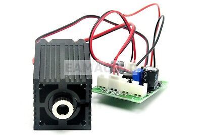Focusable 808nm 200mw Line Infrared Ir Laser Diode Module 12v Ttl Fan Cooling
