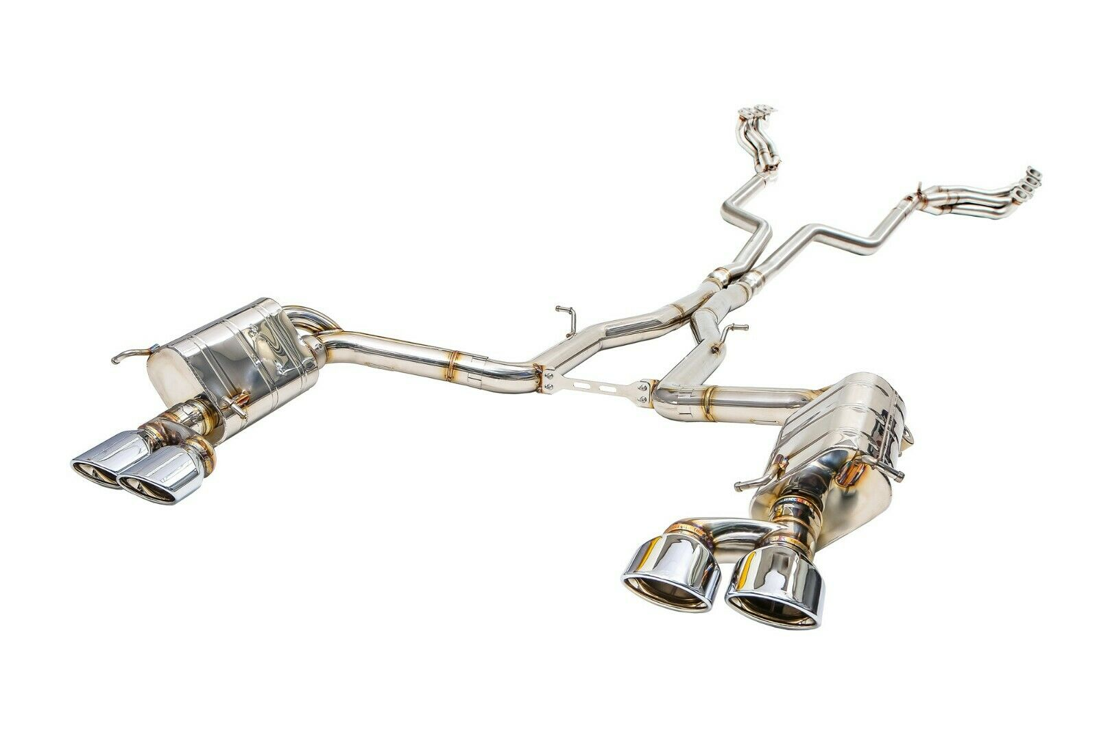 IPE Innotech F1 Exhaust FULL System for Mercedes Benz W204 C63 AMG