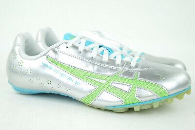 ASICS G953Y Hyper Rocketgirl SP Running Track Shoes Womens Size 8.5 Silver  ()