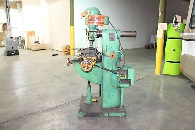 Southbend Vertical Metal Mill Model Mil 3218 1hp. 3 Phase Fairbanks
