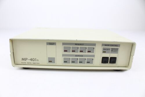Auto Data Switch MP401B Parallel Printer Sharing Device No Power Supply Untested