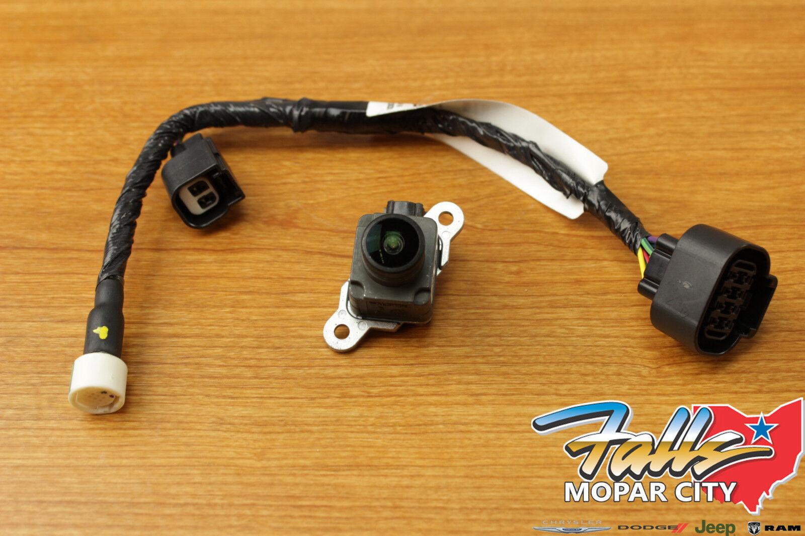 2013-2017 Dodge Ram 1500 2500 3500 Rear View Camera & Wire Harness Kit  Mopar OEM