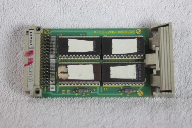 Siemens memory module 6ES5-370-0AB11
