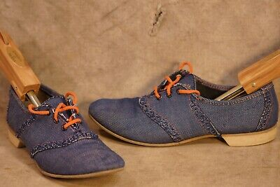 Vintage 1950's-60's Beebe Denim Woman's Bowling Shoes Size 7 RETRO! (1950s Bowling)