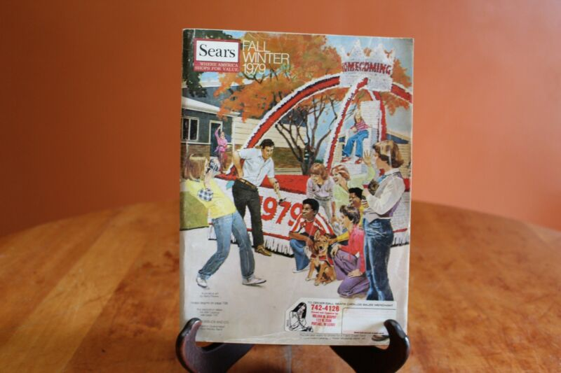 Vintage Sears Roebuck & Company Fall Winter 1979 Catalog 1,714 Pages Midwest