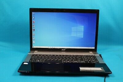"Acer Aspire V3-731-4477 17.3"" Laptop Intel B950 4GB RAM 512GB HDD *NO BATTERY*"