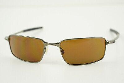 Oakley Square Wire 3.0 Dark Chrome/Bronze Sunglasses RARE!