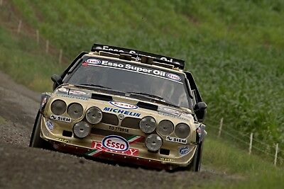 Lancia Delta S4 Gruppe B Poster 50x70 cm Eifel Rallye Festival`16