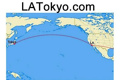 Perfect Domain Name For Travel Or Import Related Business Between La Tokyo